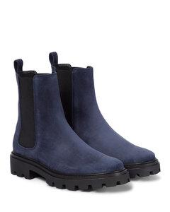 Mytheresa发售 — 绒面革切尔西靴
