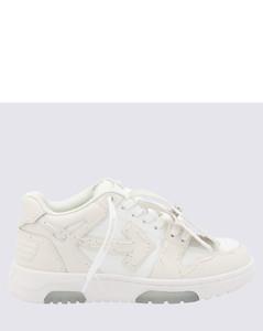 Uniqueform V-logo leather platform boots