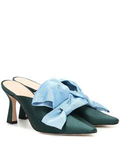 Lotte緞布穆勒鞋