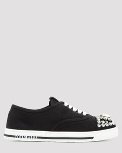Crystal-Embellished Sneakers