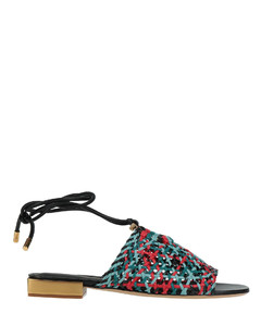 Woman Haywood 95 Pebbled-leather Knee Boots