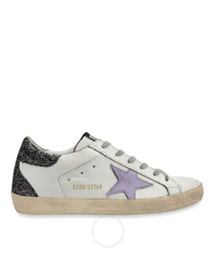 Deluxe Brand Ladies White Low Top Sneakers