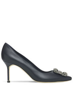 70mm Hangisi Leather Pumps