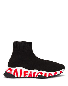Speed Lt Graffiti Sneakers in Black