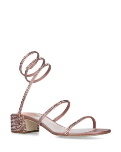 Embellished Twirl Sandals 40