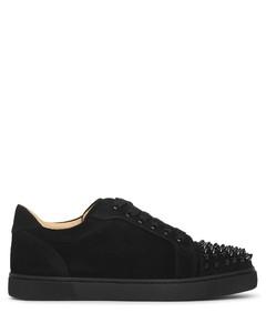 Vieira Spikes black suede sneakers