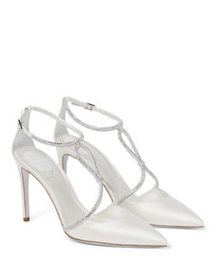 Women's Chuck Taylor All Star Digital Powder Hi-Top Trainers - Wash Denim/Egret/Light Gold