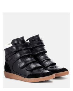 Bilsy皮革运动鞋