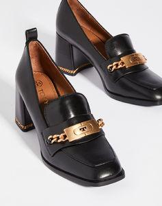 链式70mm平跟船鞋