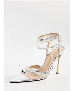 Diamond of Elizabeth Transparent高跟鞋
