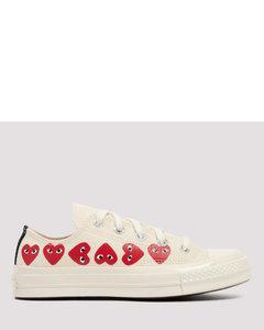 Comme Des GarÇons Play X Converse Chuck Taylor Multi Heart Sneakers