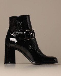 ankle boot in naplak with buckle