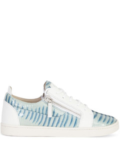 Gail snakeskin-effect sneakers