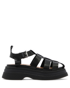 Force sneakers in jacquard fabric