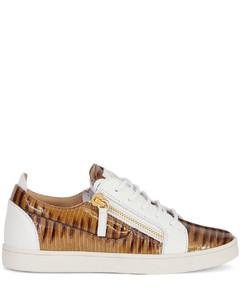 Gail snakeskin-effect sneakers