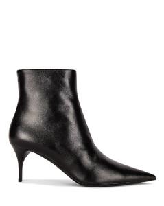 LEXI拉链短靴