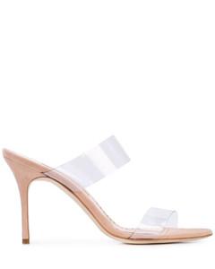 Rscolto透明鞋帶涼鞋