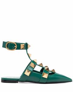 棕色皮革牛津鞋