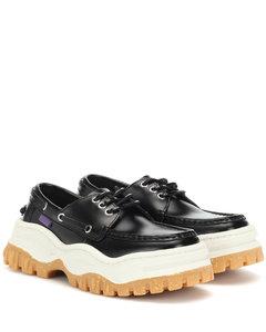Mykonos leather loafers