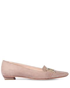 25mm Belle Vivier Suede Loafers