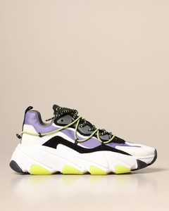 Extra sneakers in suede and nylon