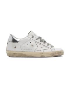 白色&银色Superstar运动鞋
