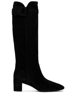 Woman Botte Polly Suede Knee Boots