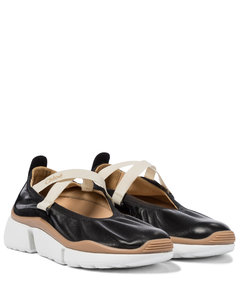 Sonnie皮革芭蕾运动鞋