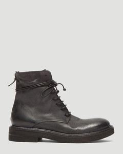 Parrucca High Leather Boots in Black