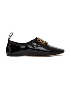 黑色Soft Anagram德比鞋