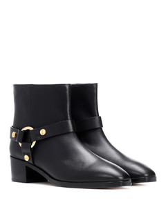 Expert leather ankle boots