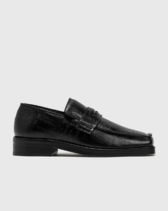 Embossed Text Roxy Loafer