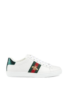 embroidered Ace sneakers