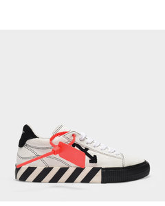 Sneakers New Arrow Low Vulcanized In Black And White Calfskin
