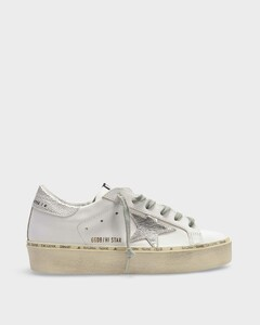 Hi Star Sneakers in White/Multicolored Leather