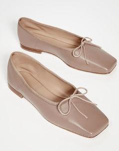 方形芭蕾舞平底鞋