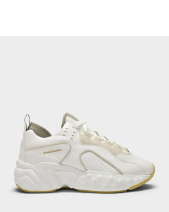 Manhattan Sneakers In White Leather
