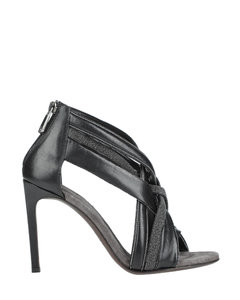 Beige and black Eclypse sneakers