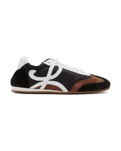 黑色&棕色Ballet Runner运动鞋