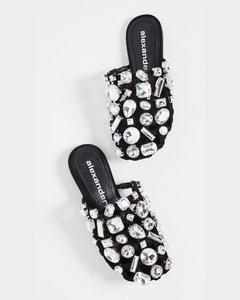 水晶Amelia穆勒鞋