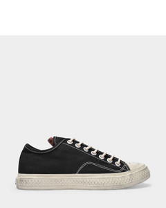 Ballow Tumbled W Sneakers in Black Canvas