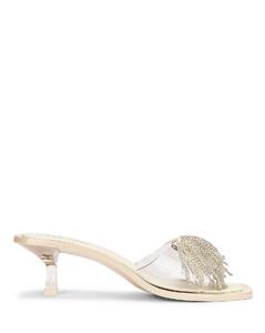 Uma Heel in White