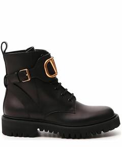 VLogo Signature Combat Boots
