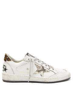 Ball Star leather trainers