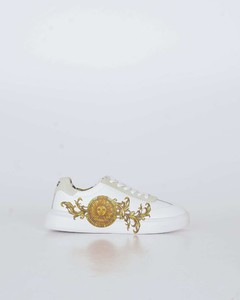 Pink Moon Print Sock Boots
