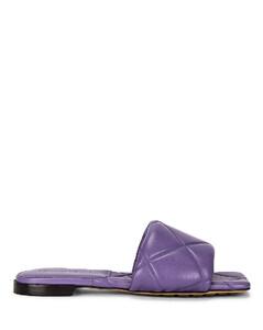 BV Rubber Lido Sandals in Purple