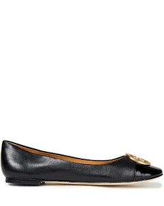 Woman Smooth And Patent-leather Ballet Flats