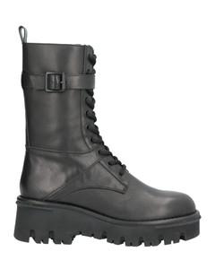black Superstar leather sneakers