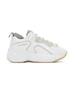 白色Manhattan运动鞋