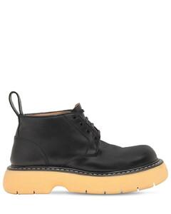35毫米皮革及踝靴